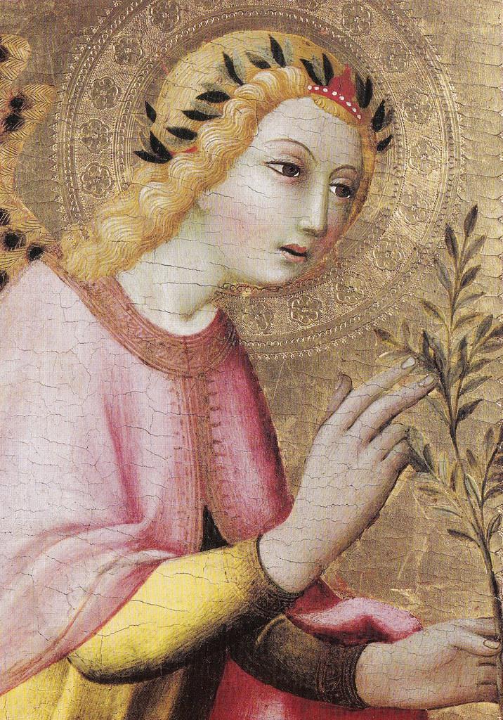 L'Ange de l'Annonciation est une peinture sur bois de Sano di Pietro datant de 1440, conservée au Musée du Petit Palais d'Avignon