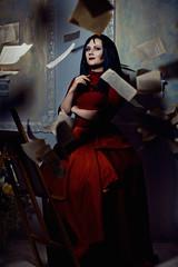 Manhwa Model (Lady Integra_CosMo) Tags: michael blood model cosplay vampire gothic jae manhwa