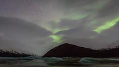 Heinabergslón (doevos) Tags: iceland aurora ísland auroraborealis noorderlicht northernlight ijsland heinabergslón