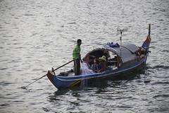 Fishing Boat on the Tonle Sap (Keith Kelly) Tags: city cruise sunset net water river fun boat fisherman asia cambodia seasia southeastasia capital working catch phnompenh kh fishingboat aroundtown mekong tonlesap kampuchea fisherwoman