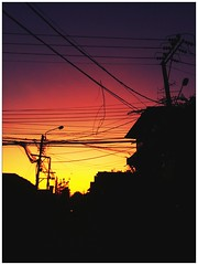 Yesterday's last light was a true kick-ass! (kanizfotolio) Tags: sunset sun color home smart mobile set contrast thailand colorful asia phone bangkok samsung galaxy th bkk s2 contras sii flickrandroidapp:filter=none