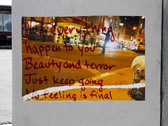 No Feeling Is Final (~db~) Tags: california urban usa streetart pasteup art beauty sign america paper poster la words losangeles downtown unitedstates quote wheatpaste paste wheat text letters socal final terror downtownla publicart feeling dtla rilke artsdistrict artistsdistrict rainermariarilke s6100100dscn7593