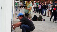 Blek Le Rat en el GAM / Santiago / Chile (LosMurosNosHablan) Tags: chile santiago rat le gam 2014 blek bleklerat