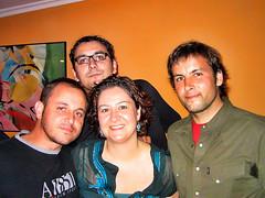 Cumple Lino, Lupy, Marta (Pepe Fernndez) Tags: amigos fiesta grupo cumplaos fotodegrupo