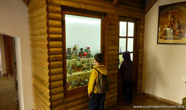 Visitando el museo del juguete