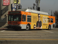 LACMTA (theTransitjournal) Tags: new flyer cng c40 lacmta c40lf