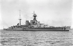 HMS Hood. Commander Richard Seaborn, Father of Randy Seaborn, served on the Hood. Hood was sunk by German Battleship Bismark with 3 surviving out of a crew of 1418.