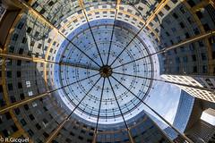 Place Ronde (La Dfense) (renan4) Tags: sky paris france building tower architecture modern nikon europe place perspective moderne fisheye nikkor renan ladfense d800 verrire gicquel placeronde renan4