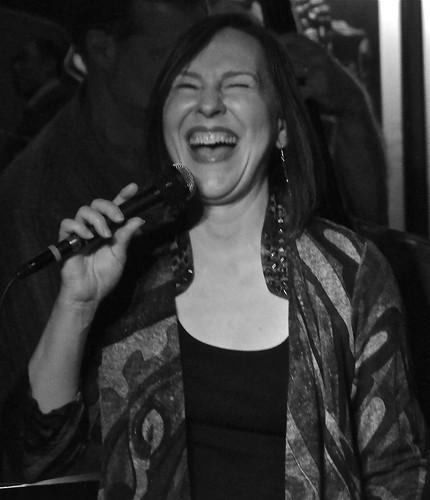 Kendra Shank, 55 Bar, New York, May 30, 2014
