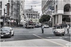 Street Scene San Francisco (FOXTROT ROMEO) Tags: sf sanfrancisco california ca panorama cali canon square fire eos sfo pano union police roadtrip victoria crown firedepartment kalifornien 70d eos70d sfmpa