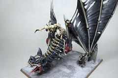 Terrorgheist with Ghoul King (Bronzetooth) Tags: king vampire battle fantasy warhammer ghoul counts terrorgheist
