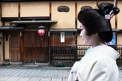 Geisha (avrene) Tags: japan kyoto geisha kimono obi gion satsuki