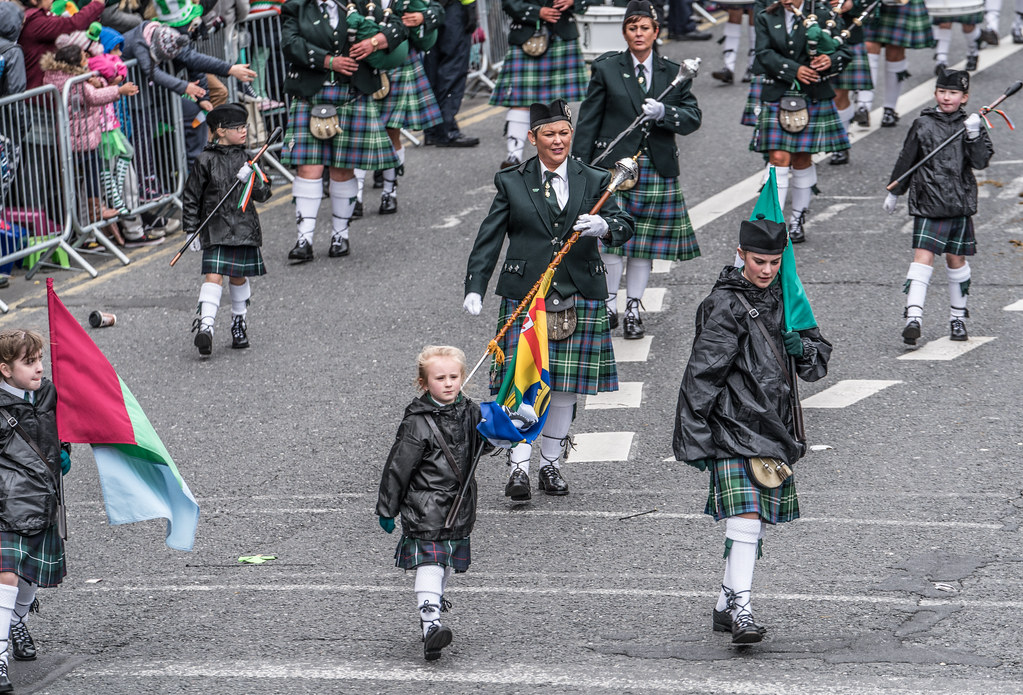 St. Joseph's Pipe Band From Glasdrumma [St. Patricks Day Parade 2017]-125892