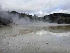 Volcanic Pool (eyair) Tags: ashmashashmash rotorua nz newzealand waiotapu thermalwonderland volcanic