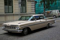 Chevrolet Impala Hardtop 4door 1959 (Burminordlicht) Tags: classiccar oldtimer uscar sweden sverige schweden chevrolet chevy 1959