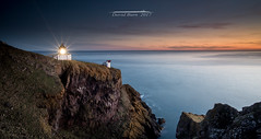 St Abbs Lighthouse (Squareburn) Tags: stabbs lighthouse stabbshead cliffs scotland coast sunrise starburst