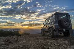Landrover 2 (cheekeemonkeez) Tags: act mt coree uriarra cotter bush landrover camping campfire sony a58 stars sunset