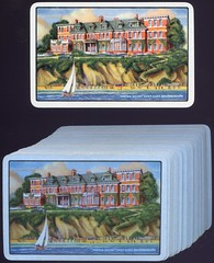 Hinton Court Hotel (Edgar Steele Hotel, Miramar Hotel), 19 (13) Grove Road and East Overcliff Drive, East Cliff, Bournemouth, Dorset (Alwyn Ladell) Tags: dorset bournemouth eastcliff groveroad eastovercliffdrive edgarsteelehotel hintoncourthotel miramarhotel playingcard