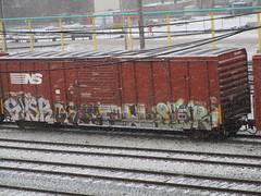 Gysr Celm Fowl Sicr (Swish 1998) Tags: freight graffiti moms gtl