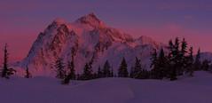 Magical Light  (Mt Shuksan at Sunset, Heather Meadows, WA) (Sveta Imnadze) Tags: nature landscape mountains mtshuksan heathermeadows wa pacificnorthwest sunset sunsetcolors