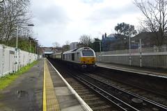 67029 'Royal Diamond', Gipsy Hill (looper23) Tags: 67029 pullman belmond gipsy hill london circular train rail railway march 2017