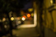 walking the street (ΞSSΞ®®Ξ) Tags: ξssξ®®ξ pentax k5 angle 2017 handheld smcpentaxm50mmf17 outdoor street city rome roma lights sunday night bokeh blur pov italy lazio flaminio