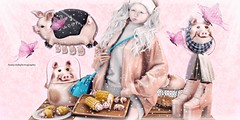 PIGS (Annyzinh Oliveira) Tags: zenith uber veechi truth hair whimsical