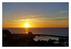 Sonnenaufgang vor Sassnitz (thirau) Tags: sonnenaufgang sunrise rügen sassnitz ostsee insel nature balticsea natur