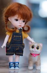 New friend (Mrs Poppie ✿) Tags: secretdoll mingmengmong ming dollmore mohairwig carrotwig ttya sunnypigs bjd bjd18 tinybjd