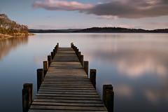 Loch Lomond Jetty (davidballantyne2) Tags: longexposure outdoors lochlomond scotland jetty water