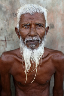 Bangladesh, portrait of an old man