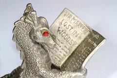 Pewter Dragon (judygva) Tags: macromondays madeofmetal