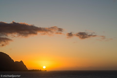 Sunset from Pali Ke Kua (Michael J Porter) Tags: hawaii kauai ocean princeville sky sunset