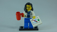 Brick Yourself Custom Lego Figure Researcher Scientist