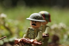 Fields of Red (lego slayer) Tags: world war one lego legos field green red blood terror 37 15 brickarms citizen brick