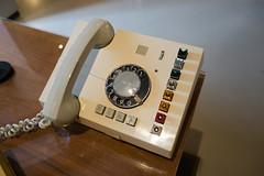 East German antique PBX phone (quinet) Tags: 2016 berlin eastgermany gdr museuminderkulturbrauerei germany