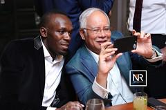 Majlis makan malam sempena 2017 Global Transformation forum Kuala Lumpur.22/3/17 (Najib Razak) Tags: majlis makan malam sempena 2017 global transformation forum kuala lumpur