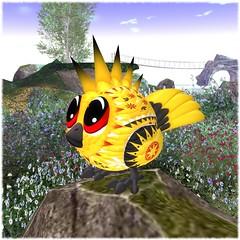 Coming Monday, April 3rd! (ozimalsofficial) Tags: ozimals secondlife magicofoz easter hunt puffling pufflings paragon