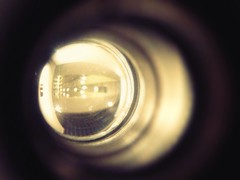 (largestartist) Tags: scary peekaboo peephole uploaded:by=flickrmobile flickriosapp:filter=nofilter