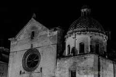 Chiesa Madre - Grottaglie (iMarcuSS1) Tags: night chiesa madre rosone grottaglie