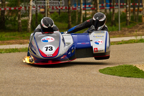 Wild thing - Keppel sidecar team