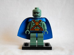 Martian Manhunter (Jerfunkel) Tags: lego custom minifigures