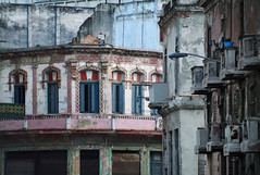 Aideu Cuba.. (areyarey) Tags: street old city travel urban detail building heritage classic texture love tourism home wall skyline architecture bar facade america vintage town colorful peeling cityscape exterior antique decay balcony painted grunge traditional go havana cuba colonial vieja culture style visit scene dirty architectural historic retro communism national castro revolution latin weathered caribbean che aged hispanic typical cuban habana residential guevara grungy crumbling oldfashioned edifice shabby areyarey