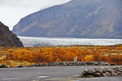 Iceland Glacier (RobOutar) Tags: city autumn mountains fall water landscape volcano waterfall iceland october sony rob glacier geyser 2012 outar a55