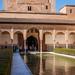 Palacio Nazaries in Alhambra