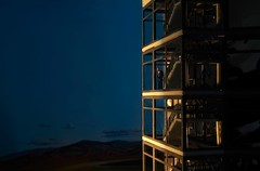WITNESS (Idlevalley) Tags: helsinki finland evening ho model man high house windows landscape