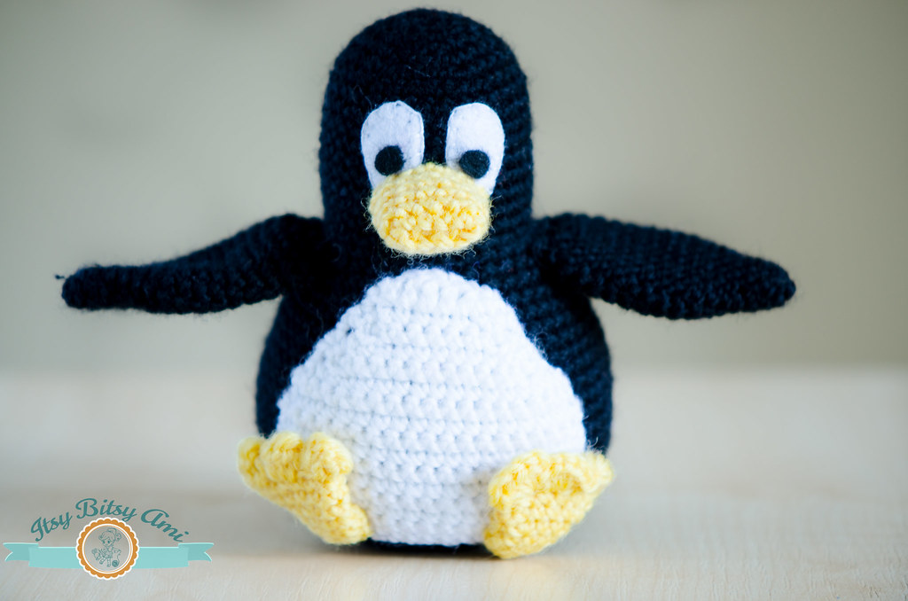 Amigurumi Linux Penguin : The Worlds most recently posted photos of amigurumi and ...