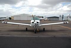 VH-UMW Beechcraft 77 Skipper Hempels Aviation (Robert Frola Aviation Photographer) Tags: nikond70 skipper 2006 beechcraft ybaf beechcraftskipper hempelsaviation vhumw