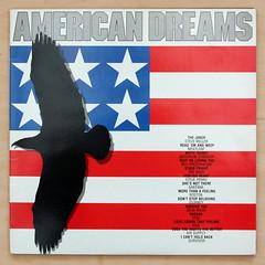 American Dreams (Leo Reynolds) Tags: canon eos album vinyl cover artists lp 7d record f80 various disc sleeve platter compilation 33rpm 33mm variousartists iso250 0008sec hpexif leol30random xleol30x xxx2013xxx
