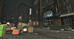 EVICTED ( Athn) Tags: cute water rain hotel funny lol games sl secondlife hunt madpea